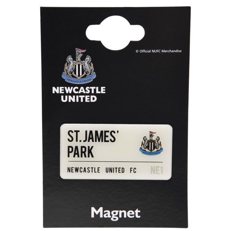 Team Team Street Sign Magnet Newcastle