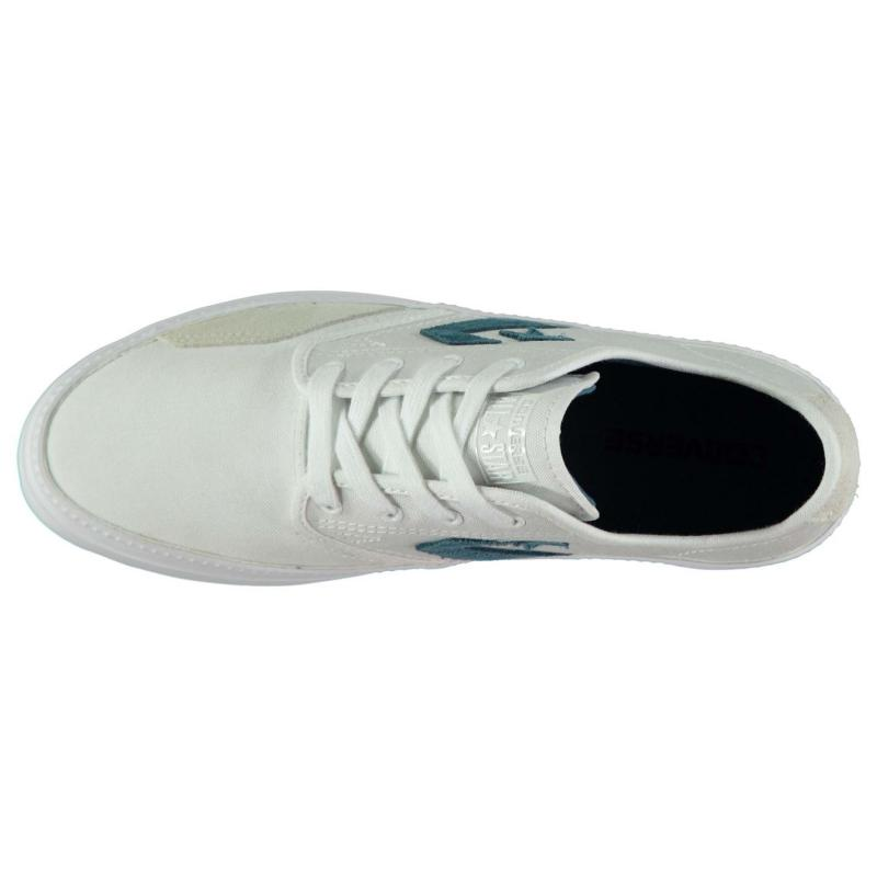 Boty CONS Zakim Cordura Canvas Shoes White/Navy