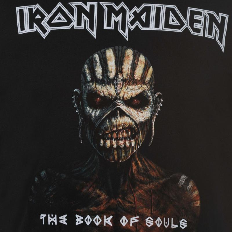 Tričko Amplified Clothing Iron Maiden T Shirt Book Of Souls