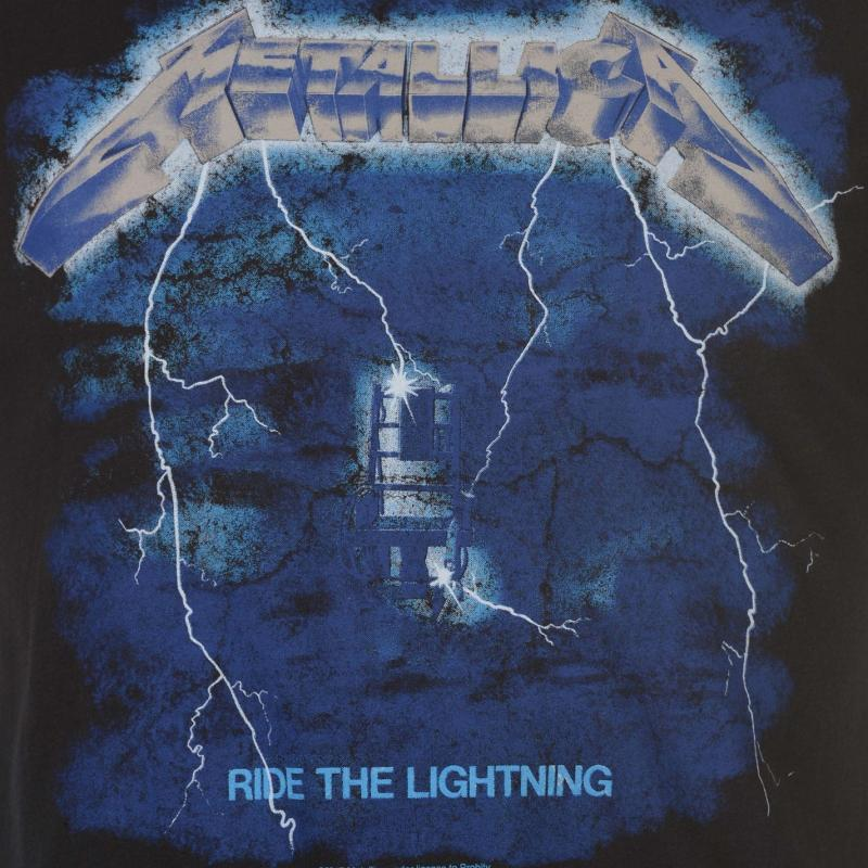 Tričko Amplified Clothing Metallica Mens T Shirt Ride the Light