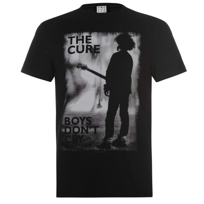 Tričko Amplified Clothing The Cure Mens T Shirt Boys Dont Cry