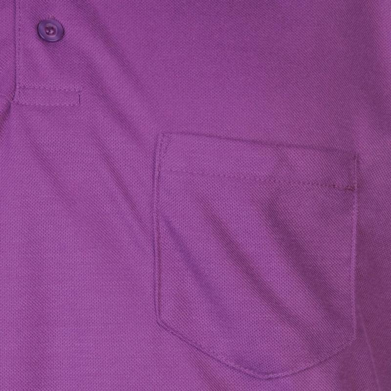 Donnay Pocket Polo Shirt Mens Purple