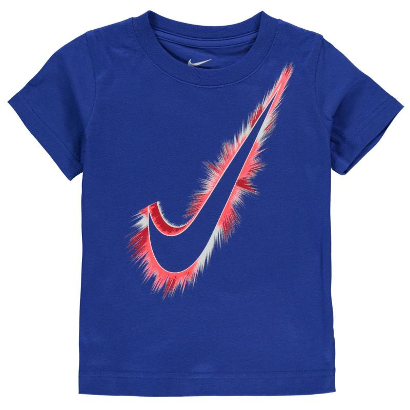 Tričko Nike Swoosh Burst T Shirt Infant Boys Game Royal
