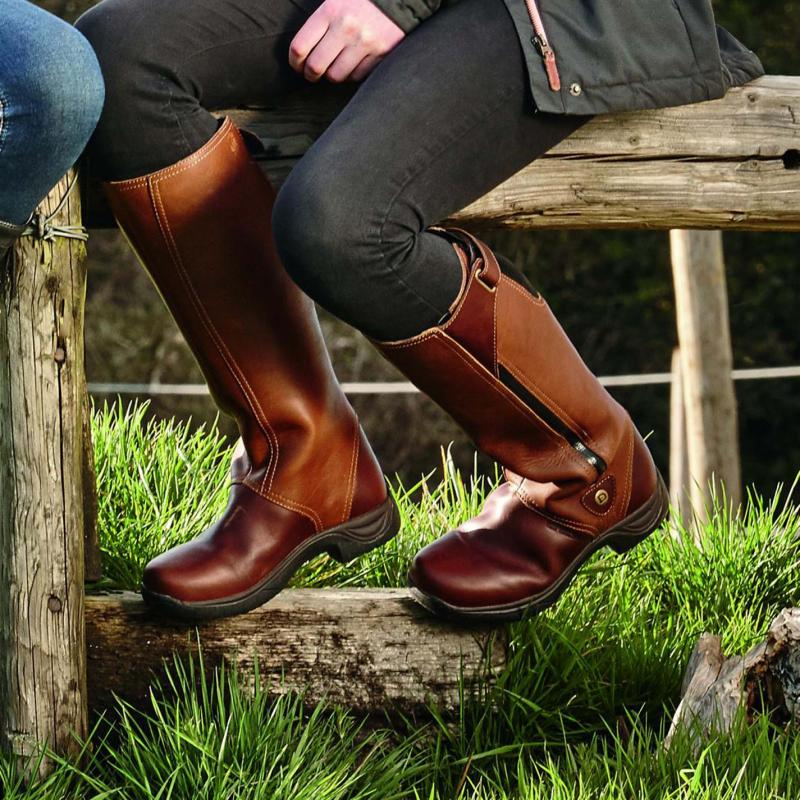 Dublin Wye Country Boots Drifted Brown