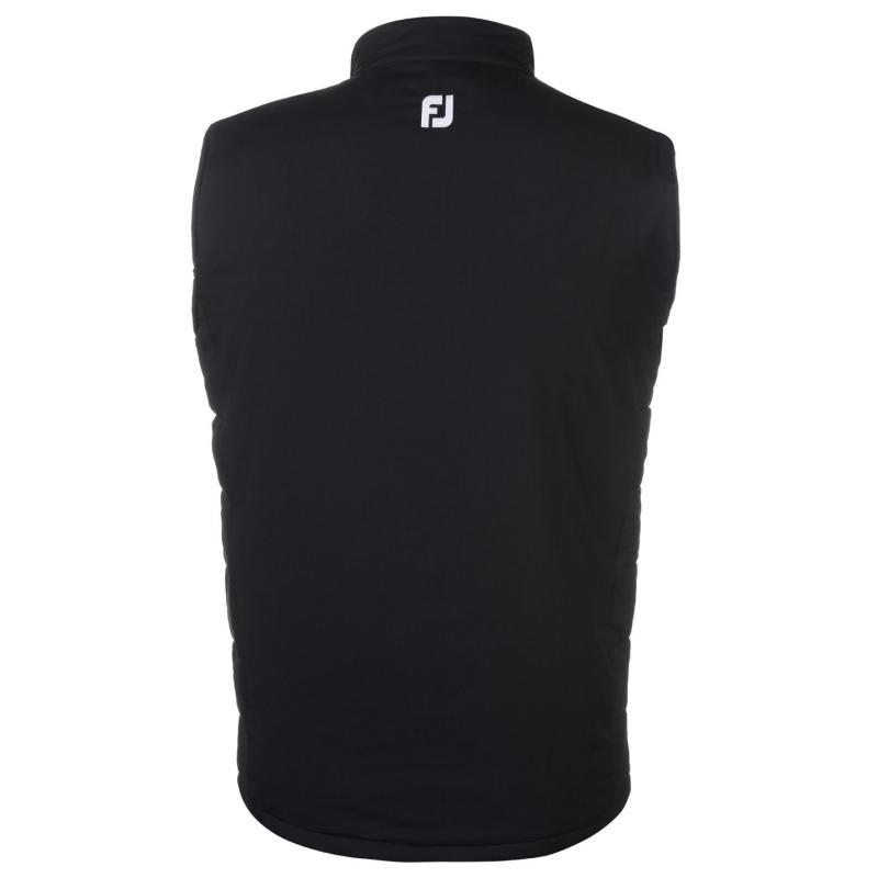 Footjoy Quilted Vest Black