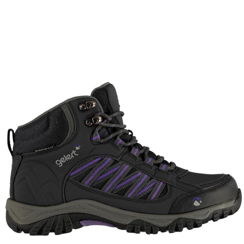 Boty Gelert Horizon Mid Waterproof Ladies Walking Boots Navy