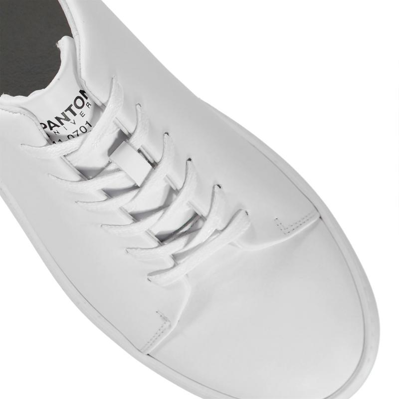 Pantone NYC Low Trainers Whisper White
