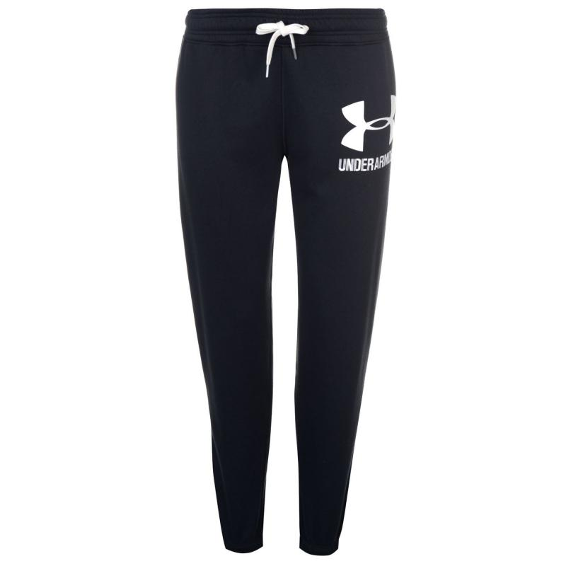 Flíska Under Armour Logo Fleece Joggers Ladies Black