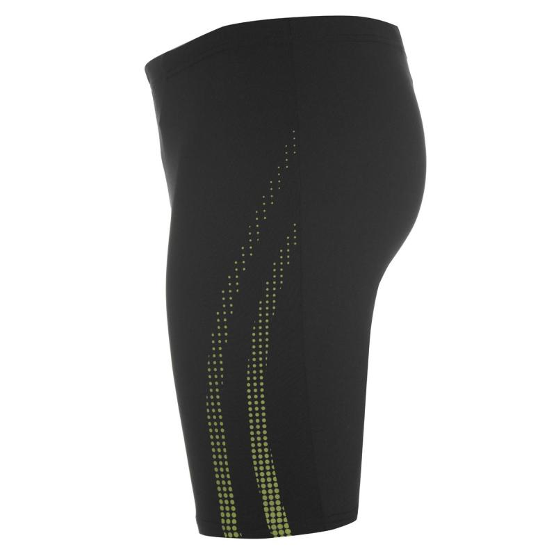 Plavky Arena Shadow Swimming Jammers Junior Boys Black/Leaf