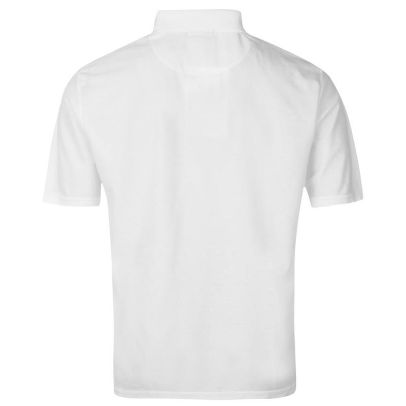 Donnay Pocket Polo Shirt Mens White