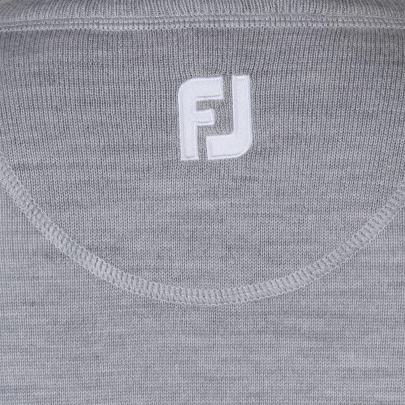 Footjoy Lambs Wool Sweater Grey
