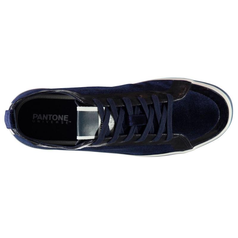 Pantone Rea Low Trainers Evening Blue