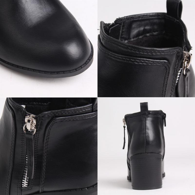 Miso Rossini Zipped Boots Ladies Black