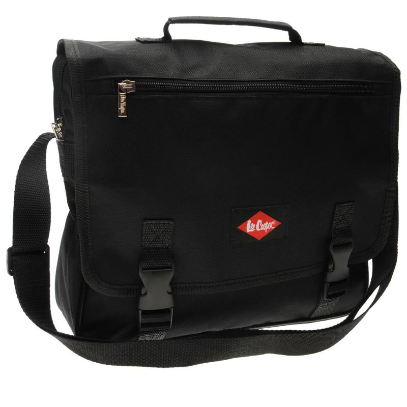 Lee Cooper Messenger Bag Black