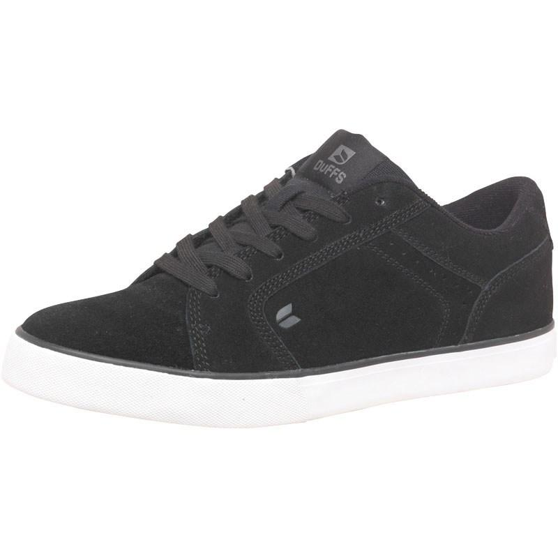 Duffs Mens Revert Shoes Black