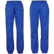 Dámské kalhoty Lee Cooper Rib Cuff Chino Modrá