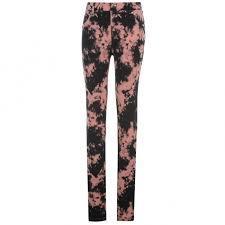 Dámské kalhoty Golddigga - Černé/Růžové