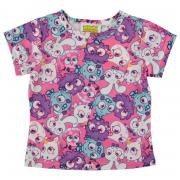 Character Short Sleeve T Shirt Infant Girls Moshi Monsters