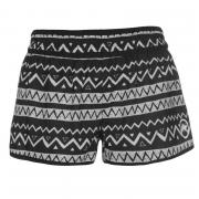 Hot Tuna Tuna Caribbean Shorts Ladies Black/White