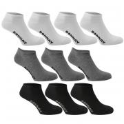 Ponožky Donnay 10 Pack Trainer Socks Multi Asst