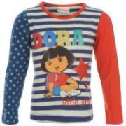 Dětské tričko Dora - Bílé/ Modré