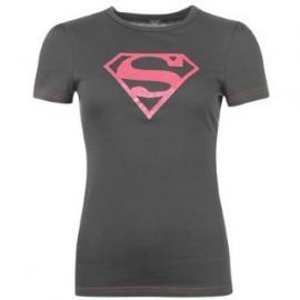 Dětské triko Superman -tmavě šedé