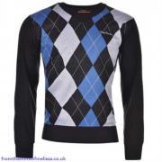 Pánský svetr Pirre Cardin Black/Blue