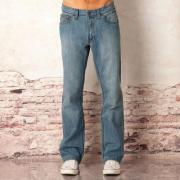 Mish Mash Mens 1988 Vintage Shade Mid Jeans Denim