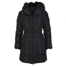 Bunda Brave Soul Womens Pillow Neck Padded Coat Black
