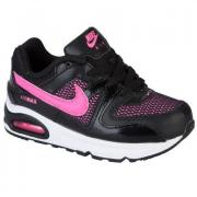 Nike Infant Girls Air Max Command Trainers Black