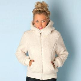 Bunda Bench Womens Baa Hoody Cream