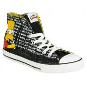 Boty Converse Junior Boys Ct HI Trainers Black