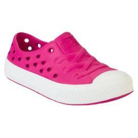 Converse Junior Girls CT Rockway Slip on Trainers Pink