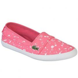 Lacoste Junior Girls Marice Trainers Pink