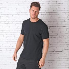 Tričko Converse Mens Racked Ringer T-Shirt Black