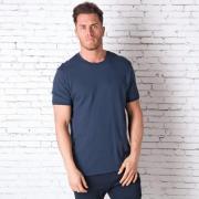 Tričko Converse Mens Racked Ringer T-Shirt Navy