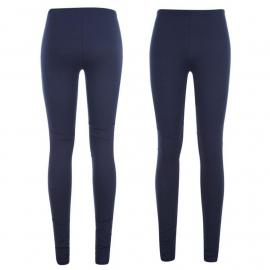 Golddigga Leggings Ladies Navy