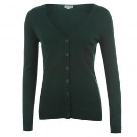 Svetr Miss Fiori Essential Cardigan Ladies Teal