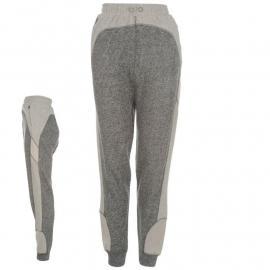 Kraťasy Lonsdale Boxing Hareem Sweat Pants Ladies Black Knit Marl