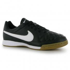 Boty Nike Tiempo Genio Junior Indoor Football Trainers Black/White