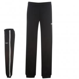 Tepláky Lonsdale 2 Stripe Closed Hem Jog Pant Ladies Black/White