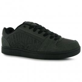 Airwalk Triple X Junior Skate Shoes Charcoal