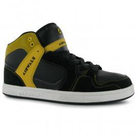 Boty Airwalk Rogue Mid Mens Skate Shoes Black/Yellow