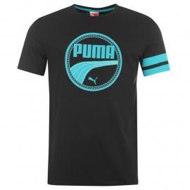 Tričko Puma QTT Athletic T Shirt Mens Black
