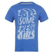 Tričko Nike QTT Fresh T Shirt Juniors Royal