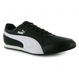 Boty Puma Fieldster Mens Trainers Black/White