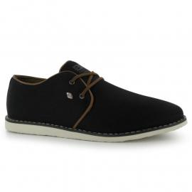 Boty British Knights Leaper Lo Canvas Shoes Mens Black/Brown