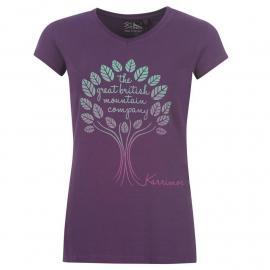 Karrimor Organic T Shirt Ladies Imperial Purple