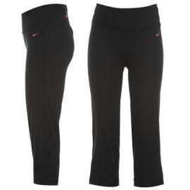 Nike Graphic Capri Pants Ladies Black/Pink