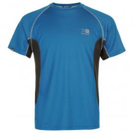 Tričko Karrimor Tech T Shirt Mens Brght Blue/Char